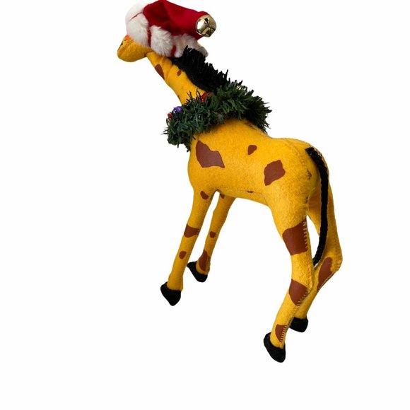 "Annalee Christmas Giraffe 14"" 2005"